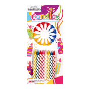 16 JUMBO CANDLES WITH HOLDER (24 PCS) PF-8731