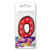 "2.5"" DOT #0 CANDLE (24 PCS) PF-6249"