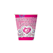 BIRTHDAY PRINCESS - 8 PCS 10 OZ CUPS (24 PACKS) PF-27100