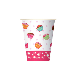 CUPCAKES - 8 PCS 10 OZ. CUPS (24 PACKS) PF-24000