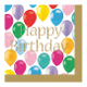 COLORFUL BALLOONS - 16 LUNCHEON NAPKINS (24 PACKS) PF-22802