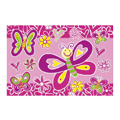 "BUTTERFLIES - 54"" X 72"" TABLECOVER (24 PACKS) PF-13503"