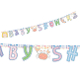 "BABY ANIMALS - 7"" X 98"" PRINTED LETTER BANNER (24 PACKS) PF-9322"