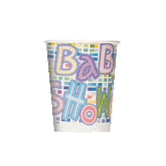 BABY ANIMALS - 8 10 OZ. CUPS (24 PACKS) PF-9300