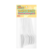 WHITE - 18 PCS CUTLERY SET 6 EACH (24 PACKS) PF-6520