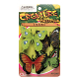 4 PCS BUTTERFLIES - 3 ASSORTMENT (24 PCS) NV-0007