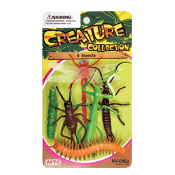 6 PCS INSECTS- 2 ASSORTMENT (24 PCS) NV-0008