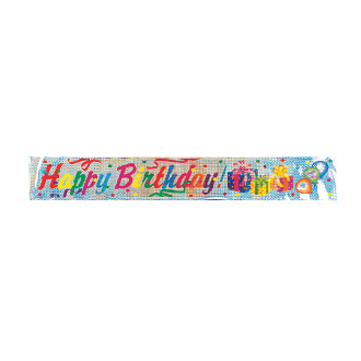 12 FT LASER BANNERS - BIRTHDAY GIFTS (24 PACKS) PF-8677