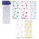 "25 PCS ASSORTED STARS CELLO BAGS 5""W X 11.5""L (24 PACKS) PF-8518"