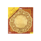 "6 PCS 8.5"" GOLD DOILIES (24 PACKS) PF-8555"