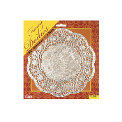 "6 PCS 8.5"" SILVER DOILIES (24 PACKS) PF-8556"