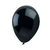 "13 PCS 10"" LATEX BALLOON - BLACK (24 PCS) PF-6853"