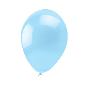 "13 PCS 10"" LATEX BALLOON - LIGHT BLUE (24 PCS) PF-6914"