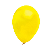 "13 PCS 10"" LATEX BALLOON - YELLOW (24 PCS) PF-6915"