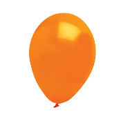 "13 PCS 10"" LATEX BALLOON - ORANGE (24 PCS) PF-6917"
