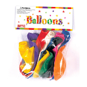 "10 PCS 12"" LATEX BALLOON - ASSORTED (24 PCS) PF-8006"
