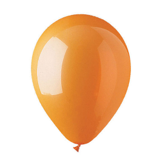 "10 PCS 12"" LATEX BALLOON - ORANGE (24 PCS) PF-6920"