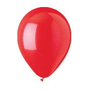 "10 PCS 12"" LATEX BALLOON - RED (24 PCS) PF-6928"