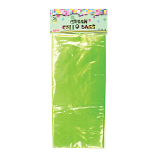 "25 PCS GREEN CELLO BAGS 5""W X 11.5""L X 3""D (24 PACKS) PF-6749"