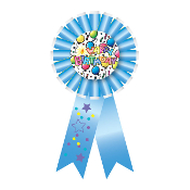 RIBBON BADGES - BIRTHDAY BASH (24 PCS) PF-6864