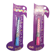 HAPPY BIRTHDAY MUSICAL CANDLE (24 PCS) PF-8709