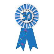 RIBBON BADGES - CELEBRATE 30 (24 PCS) PF-6946