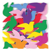 "SALE! 30 PCS 1.5"" SOFT STICKERS-BIRDS (48 PACKS) PF-7206"
