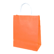 SALE! 144 PCS ORANGE MEDIUM KRAFT GIFT BAGS PF-2171