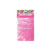 "45 PCS PINK CELLO BAGS 4""W X 6""L X 2""D (24 PACKS) PF-2280"