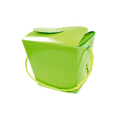 PINT SIZE TAKE OUT FAVOR BOX - MINT GREEN (24 PACKS) PF-2264
