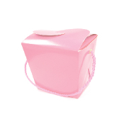 PINT SIZE TAKE OUT FAVOR BOX - PINK (24 PACKS) PF-2266