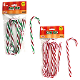 6 PCS CANDY CANE ORNAMENT - ASSORTED (48 PCS) 33094