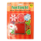 9 PCS X'MAS FOAM STAMPER SET (48 PCS) 33158
