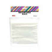 "30 PCS CLEAR SELF RECLOSABLE BAGS (6""X6"") PF-2312"