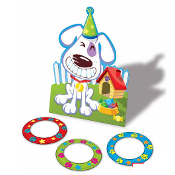 SALE! GROOVY DOG PARTY GAME (24 PCS) PF-6432