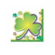 SALE! 24PCS ST PATRICK'S BEVERAGE NAPKINS (48 PCS) PF-13216