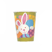 SALE! 8 PCS 9 OZ EASTER BUNNY CUPS (48 PCS) PF-16800