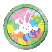 "SALE! 18"" EASTER BUNNY MYLAR BALLOONS (48 PCS) PF-16823"