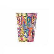 SALE! 6 PCS 9 OZ LASER EASTER CUPS (48 PCS) PF-13960