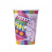SALE! 8 PCS 9 OZ EASTER BUNNY CUPS (48 PCS) PF-14000