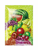 SALE! NOTEBOOK - TROPICAL FRUITS (48 PCS) PF-20716