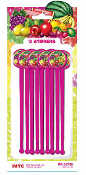 SALE! 12 PCS STIRRERS - TROPICAL FRUITS (48 PCS) PF-20759