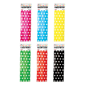 "25 PCS POLKA DOT BAGS 3.5""W X 10.75""L X 2""D (24 PACKS) PF-2229"