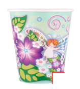 SALE! 8 PCS 10 OZ CUPS - MAGIC GARDEN (48 PCS) PF-22200