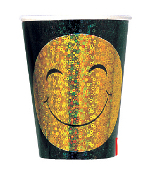 SALE! 6 PCS 9OZ CUPS - SMILEY (48 PCS) PF-12760