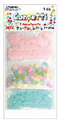 1 OZ. STAR CONFETTI - PINK/BLUE/MULTI PASTEL (24PACKS) PF-2734