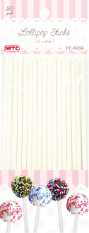 "30 PCS 6"" LOLLIPOP STICKS (24 PACKS) PF-6968"
