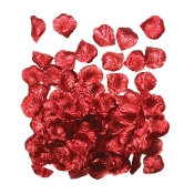 125 PCS ROSE PETALS - IRIDESCENT RED (24 PACKS) PF-3089