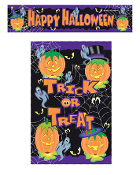 SALE! PUMPKIN MAGIC - DOOR COVER & BANNER (48 PACKS) PF-12127