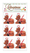 SALE! 6 PC REINDEER BASKETS (48 PACKS) PF-8857